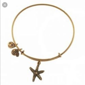 Alex and Ani Starfish Charm Bracelet